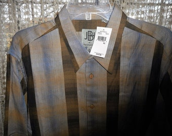 JHANES BARNES SHIRT     Really Super Nice Shirt,   Size X-Large,   Never Worn,   Still With Tags On