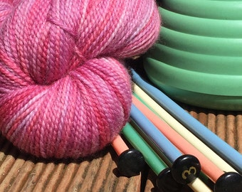 Lilly Pilly hand dyed Australian 4ply sock yarn
