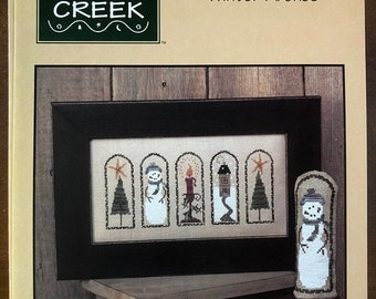 MAYniaSALE Bent Creek, Winter Arches, Book Number BC1051, Counted, Cross Stitch Pattern