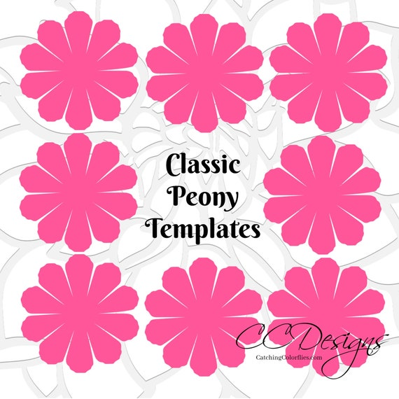 Paper flower printable templates diy peony paper flowers pdf paper flower printable templates diy peony paper flowers pdf printable flower templates diy paper flowers paper flower bouquet mightylinksfo Images