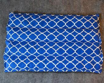 Microwave Heating Pad, Lumbar Corn Bags, Corn Heating Pad, Microwave Heat Pack, Corn Heated Bag, Spa Gift -- Lumbar 10x16 -- Cyan Gate