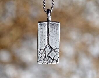 Tree root pendant