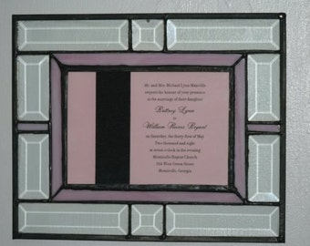 Stained Glass Keepsake Frame