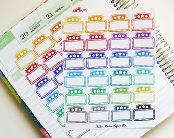Planner Stickers - Movie Marquee Stickers for planner, journal, and scrapbooking
