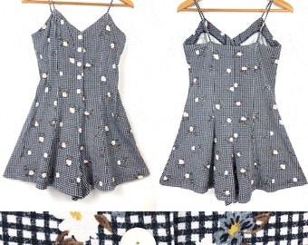 90s does 50s Romper Playsuit
