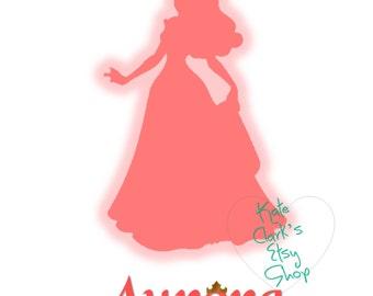 Princess Aurora Digital Art Printable
