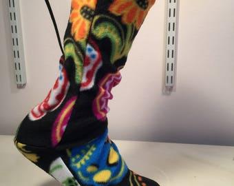 fleece socks, fleece boot liners, adult socks, children socks, slippers,