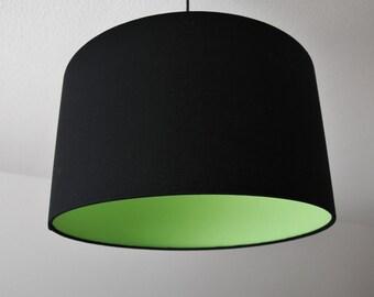 """Lamp Shade """"black-green"""""""