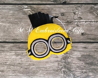 Pretend Play Minion Inspired Mask