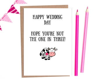 Funny wedding cards, wedding card funny, wedding card personalised, getting married, gay wedding cards, mr and mrs, lesbian wedding card