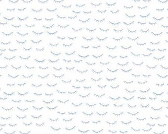 NEW!  Fabric by the Yard - Fat Quarter Bundle - Fabric Bundle - Quilt Fabric - Navy Fabric - Luna - Dear Stella - 40 Winks