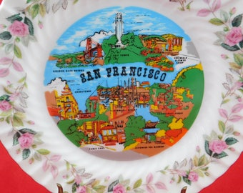 Vintage Collectors Plate San Francisco