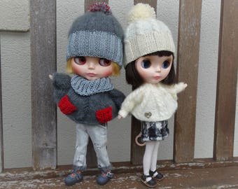 a outfit for 1/6 bjd doll, Blythe, Licca and similar