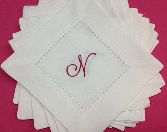 Greatstitch Hemstitched Napkins Set of 12