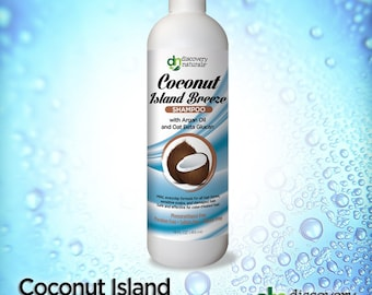 Coconut Island Breeze Natural & Organic Shampoo
