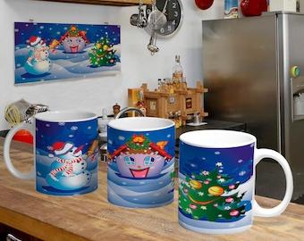 Christmas Digital Template Mug 8
