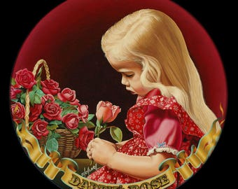Daddy's Rose // Giclee on Canvas