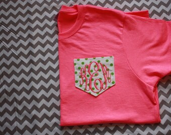 Embroidered Pocket T-Shirts