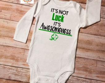 St Patricks Day Onesie, Baby Onesie, St Patricks Day, Shamrock Onesie, St Patricks Onesie, Irish Onesie, Baby Shower Gift, New Baby Onesie