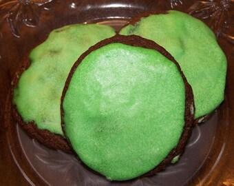 1 Dozen Chocolate Double Mint Cookies