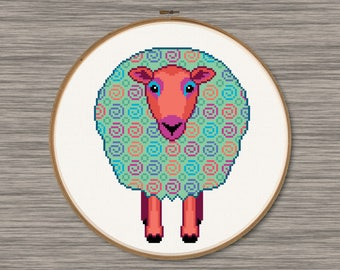 Sheep - PDF Cross Stitch Pattern