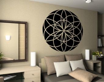 Vinyl Wall Decal Sticker Kaleidoscope Design OSMB842m