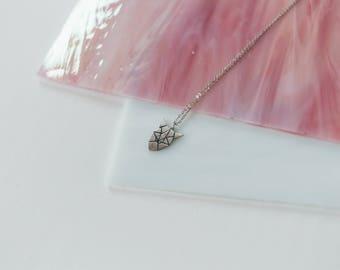 Fox , silver pendant