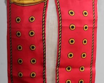 Vintage 70 silk scarf looks   like  a belt