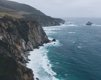 Big Sur Photography, Big Sur Print, Ocean Photography, Big Sur California, Big Sur Art, Beach Photography, Beach Print, Fine Art Photography