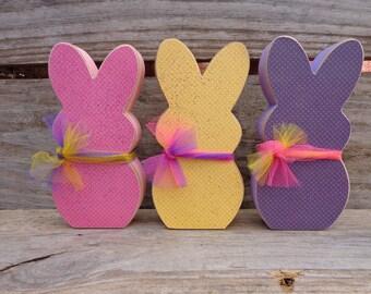 Easter Peeps -  Easter Decor -  Spring Decor - PEEPS Set of 3