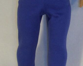 American Girl Doll Royal Blue Leggings