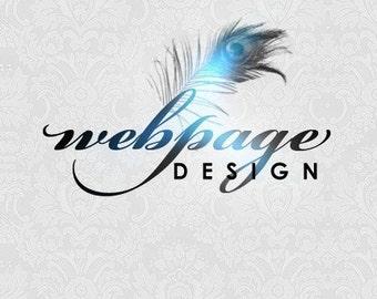Website - One page website / web design