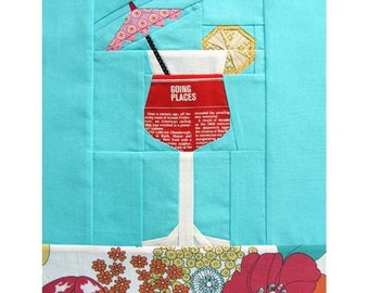 Summer Cocktail, a Paper Piecing Pattern