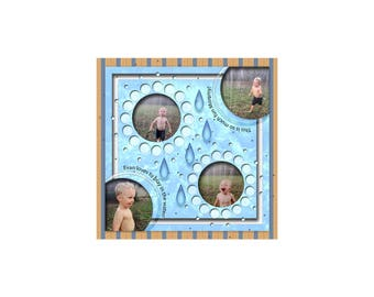 12x12 Digital Scrapbook Template (247)