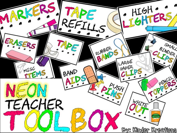 Teacher Toolbox Clipart