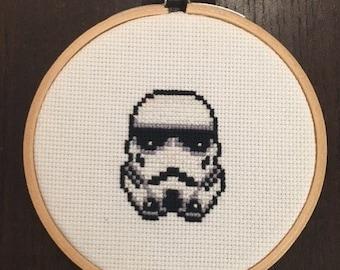 Stormtrooper Cross Stitch