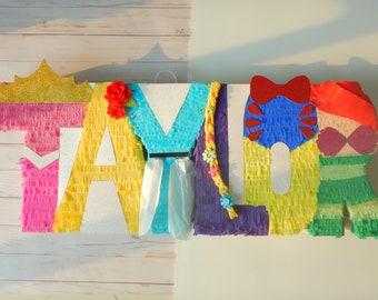 Princess Letters, Disney Princess Party, Princess Party, Rapunzel Party, Princess Birthday, Snow White Party, Disney Letters