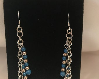 Ravenclaw Book Version Hat Earrings