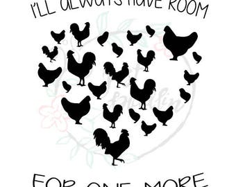 chicken rooster svg