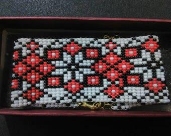 Ukrainian bracelet Vishivanka. handmade  bracelet . Ethnic bracelet .   Traditional bracelet . embroidery  bracelet