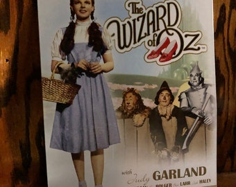 Wizard of Oz wall sign
