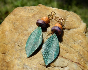 Rustic Boho Earrings