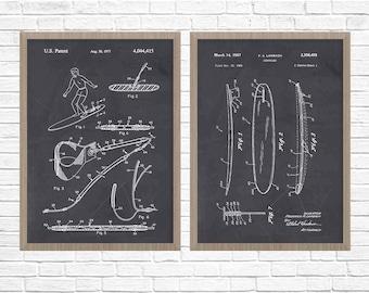 Surfing Art, Surfing Patent Poster, Surfing Art, Surf Poster, Surf Patent, Surfing Patent, Surfboard, Surfboard Patent Art, Surfing Wall Art