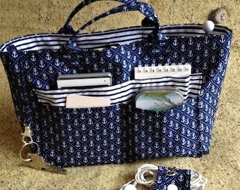 Sailor bag Organizer - Organizer - handbag identity papers