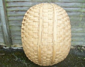 Rare Oval   Large Vintage French Basket.