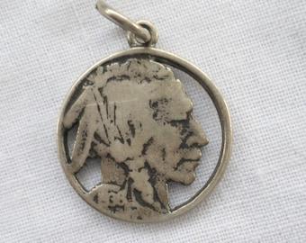 Indian Head/Buffalo Nickel Charm
