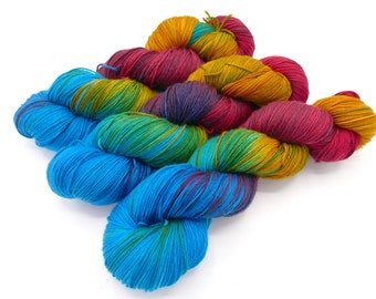 Themyscira Lovely Hand Dyed Sock Yarn - In Stock