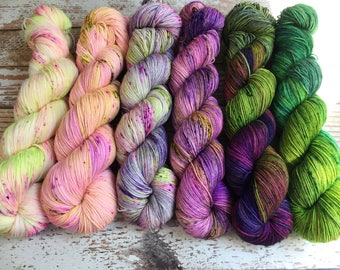 PREORDER - What The Fade Kit # 1 - Hand Dyed Yarn