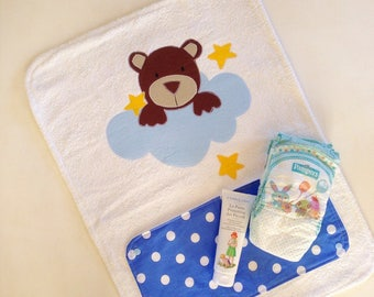 Roll up changing table