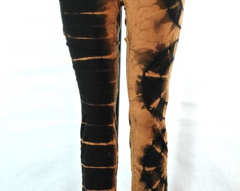 Tie Dye Upcycled Ladies H&M Funky Pants